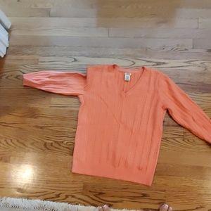 Izod medium orange sweater